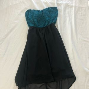 Small Strapless Dress